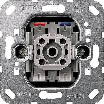 Gira Wippschalter Kontrollampe Aus-Wechselschalter 011600