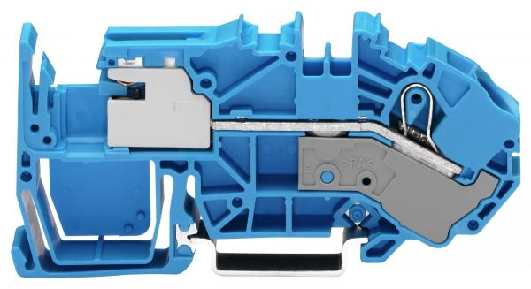 Wago 2016-7714 1-Leiter-N-Trennklemme 16 mm² blau