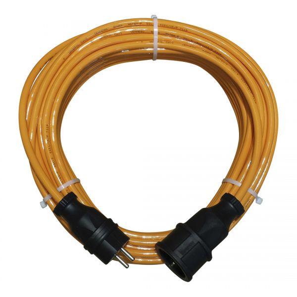 PUR-Leitung H07BQ-F3G2,5mm² mit Gummisteckvorrichtungen.