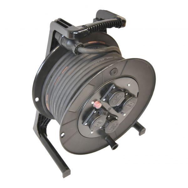 Vollgummi-Stromkabel auf Kabeltrommel Titanex 230V 3G2,5mm²