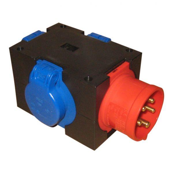 Kompaktverteiler CEE16A auf 3x Schuko