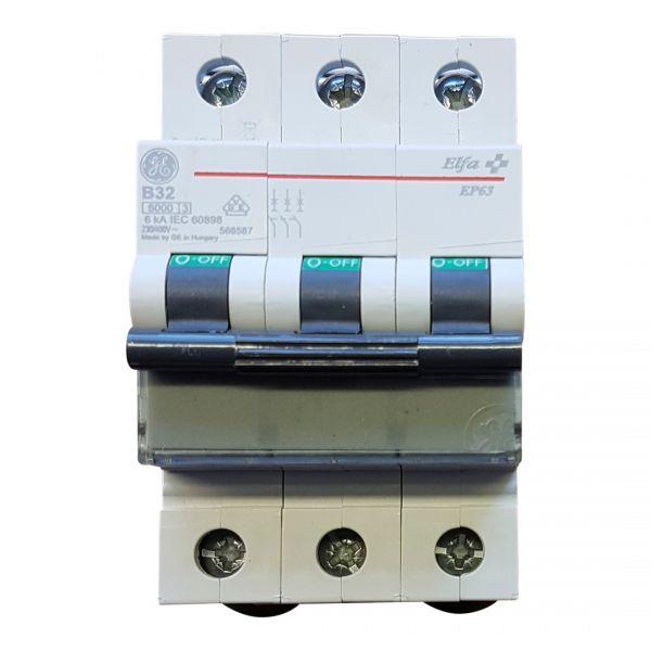 AEG B32A Leitungsschutzschalter 3polig 667227