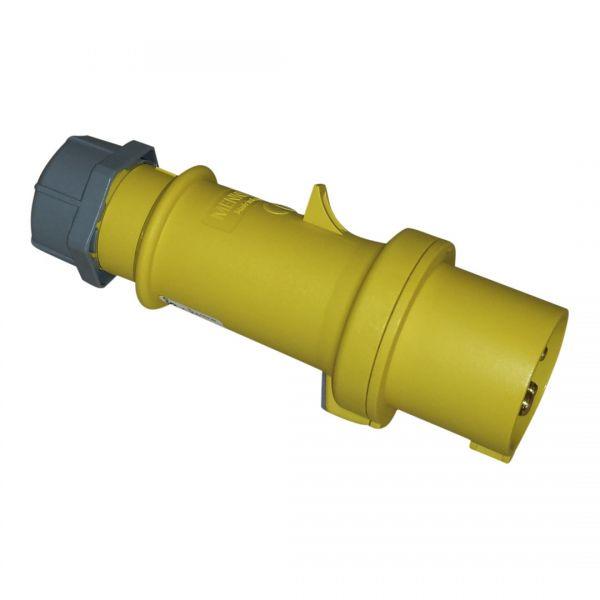 CEE 16A Stecker ProTOP® Mennekes 3pol. 110V gelb
