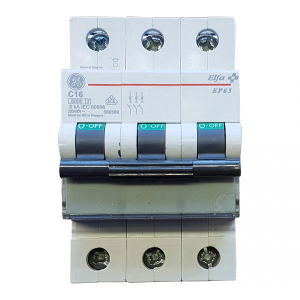 AEG C16A Leitungsschutzschalter 3polig 667459