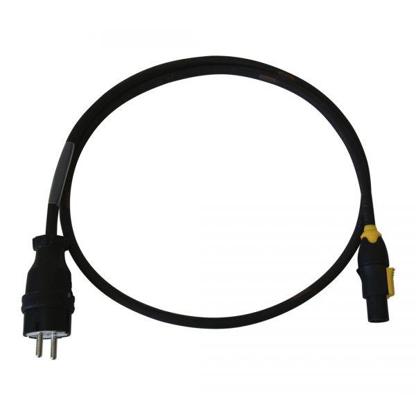 Powercon True1 | Titanex Kabel H07RN-F 3G1,5mm² (schwarz)
