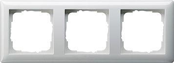Gira 3-fach Abdeckrahmen reinweiß glänzend 021303