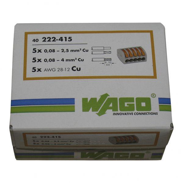 Wago Klemmen 222-415 40 Stück