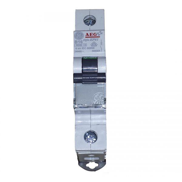 AEG B16A Leitungsschutzschalter 1polig 667131