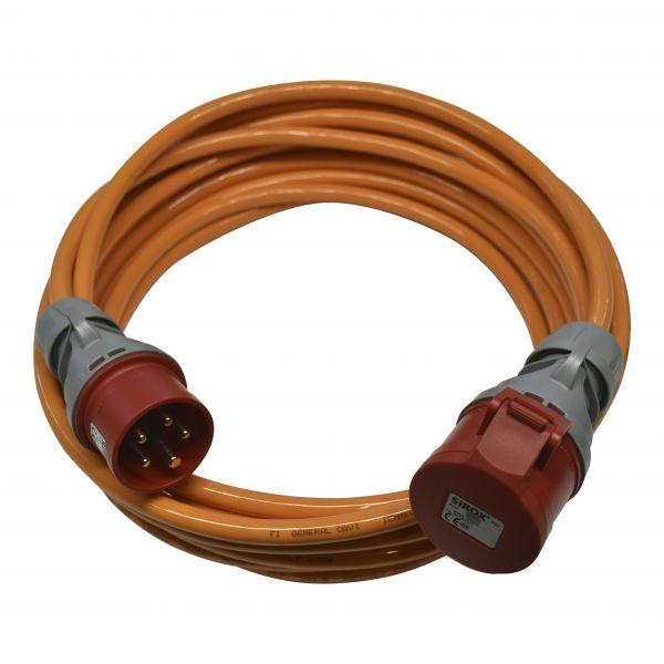 Starkstromkabel CEE 16A PUR Kabel H07BQ-F 5G2,5mm² PCE