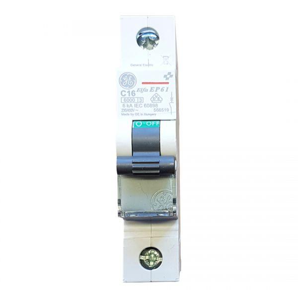 GE C16A Leitungsschutzschalter 1polig 566519