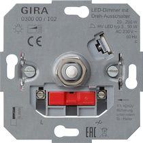 Gira LED-Dimmeinsatz mit Dreh-Ausschalter