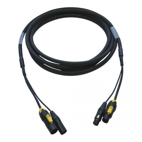 DMX 5polig/ Powercon TRUE1 TOP Patchkabel