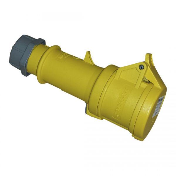 CEE 16A Kupplung ProTOP® Mennekes 3pol. 110V gelb
