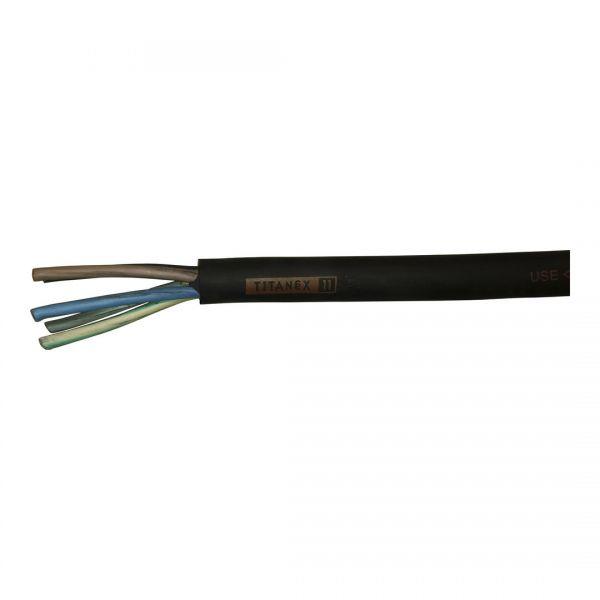 Gummikabel Titanex H07RN-F 5G2,5mm² Meterware