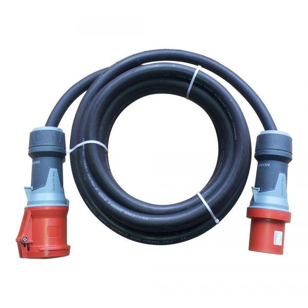 Kabel CEE 63A Titanex H07RN-F 5G16mm² Mennekes IP44